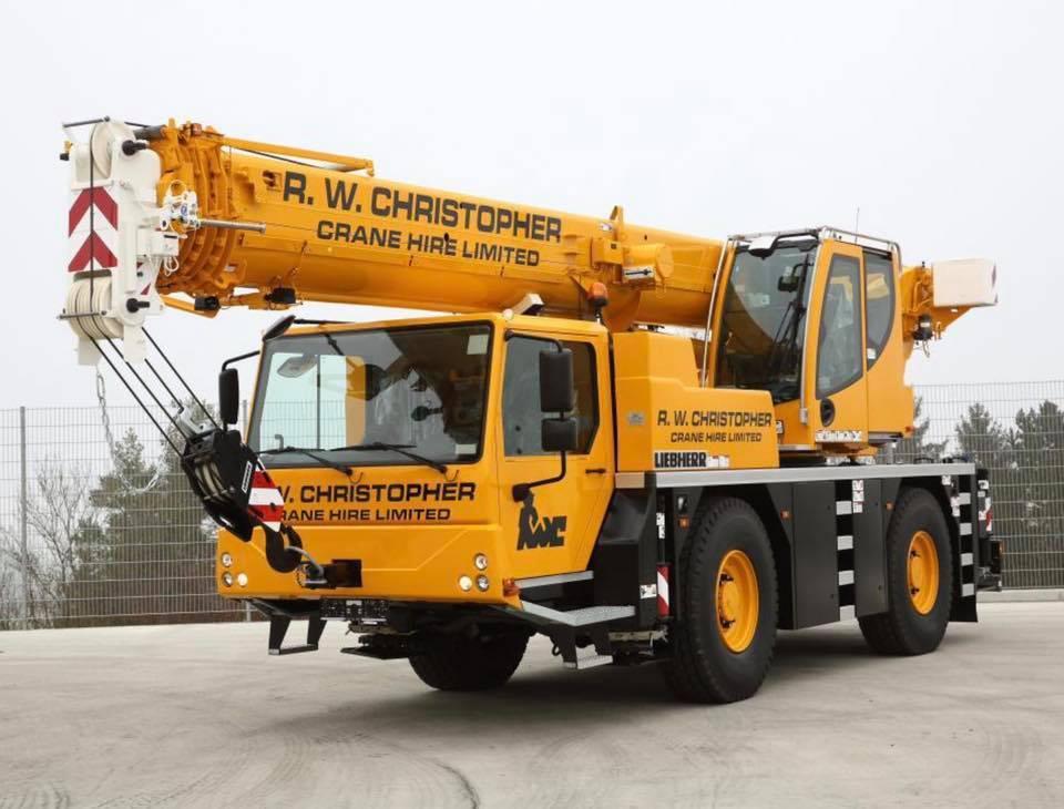 New Liebherr Crane