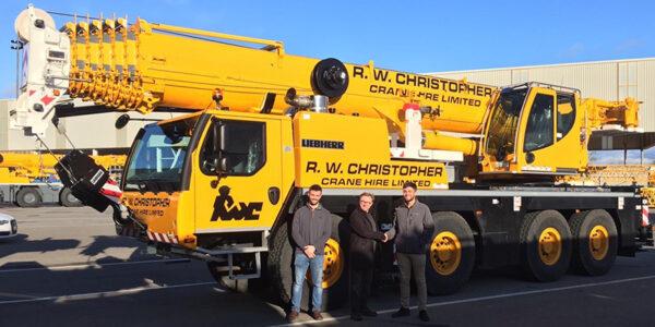 New 90 Tonne Liebherr Crane