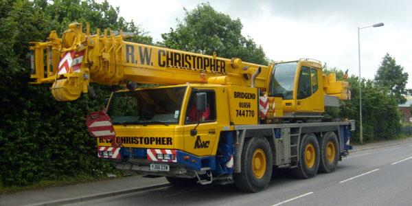 R.W. Christopher 60T TADANO FAUN ATF 60-3 Crane