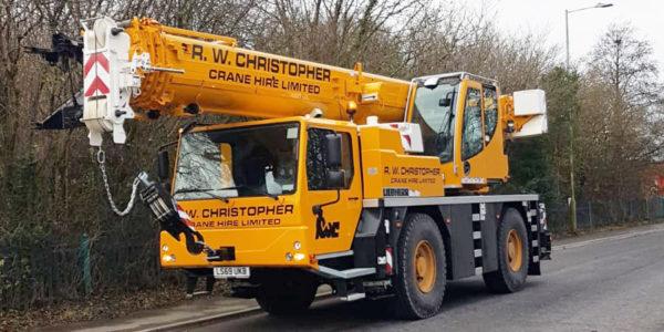 R.W. Christopher 40T LIEBHERR LTM 1040-2.1 Crane