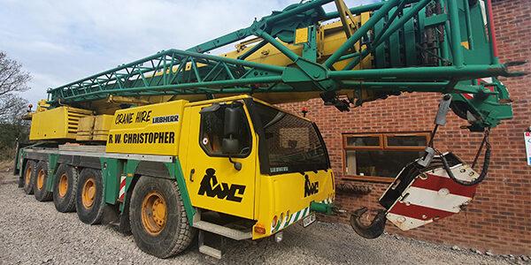 R.W. Christopher 130T Liebherr LTM 1130-5.1 Crane