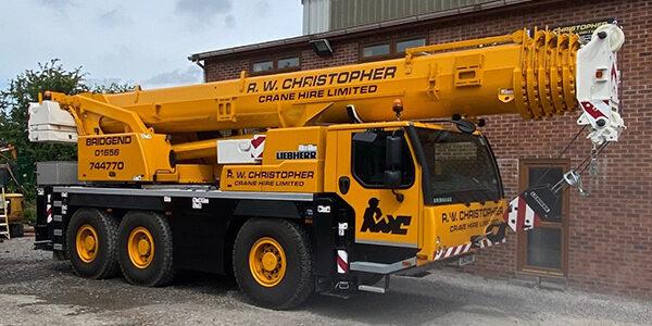 R.W. Christopher 60T Liebherr LTM1060-3.1 Crane